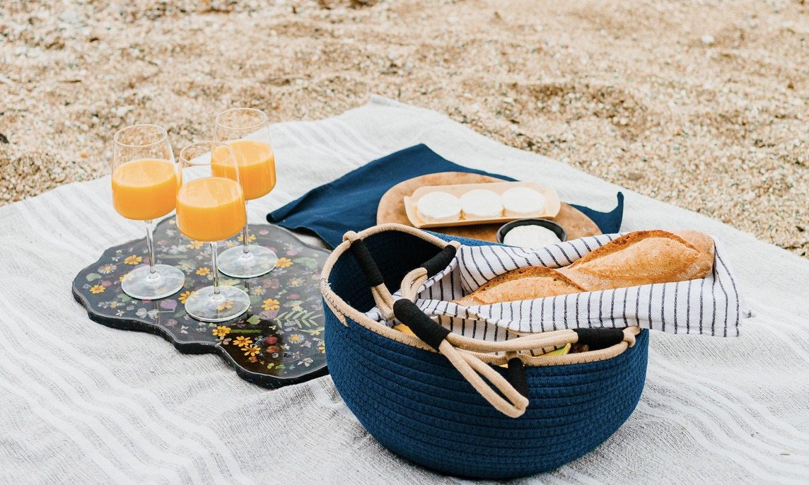 Sand Harbor Picnic for a couple