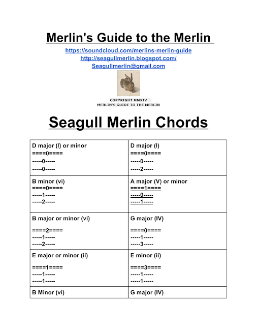 seagull merlin chord chart Car Tuning