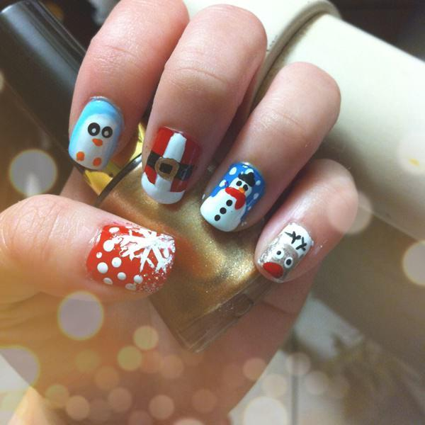 cute nail designs creem (35)