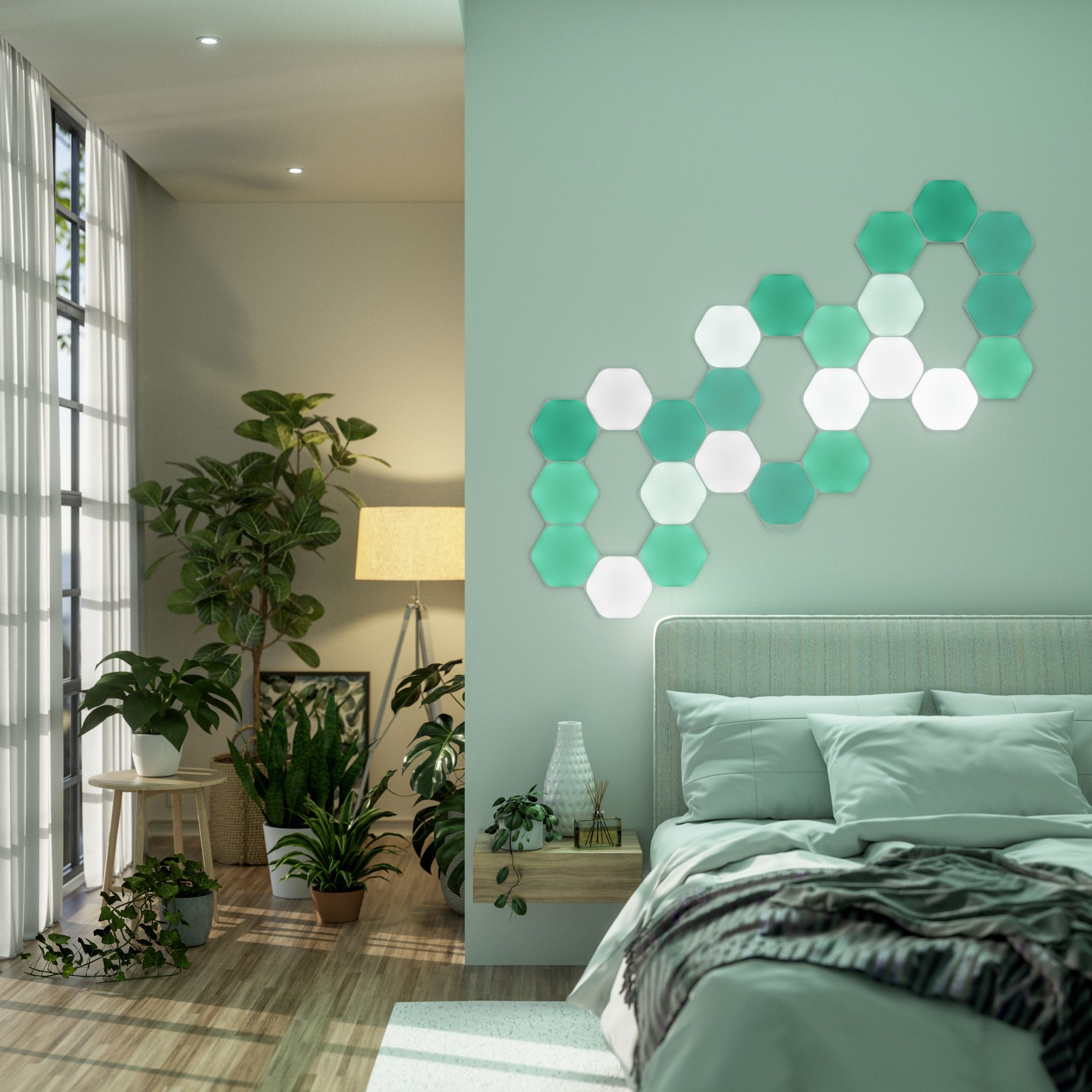 RGB color changing smart light features