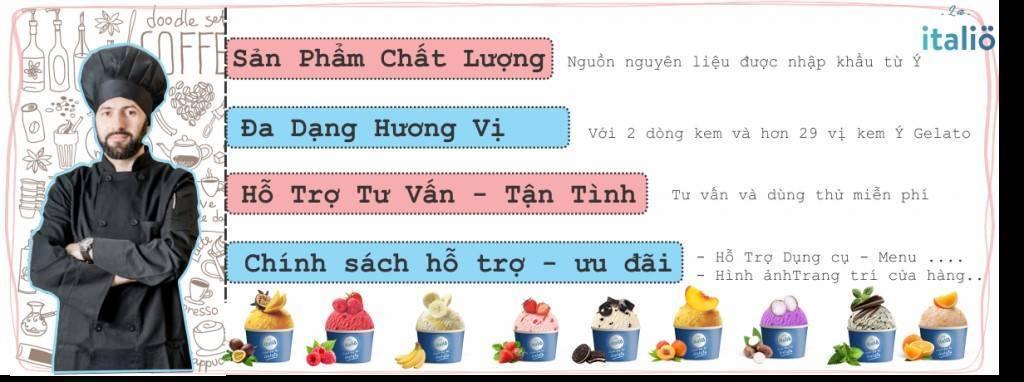 Đức Phát - đại lý kem ý chất lượng hàng đầu Việt Nam