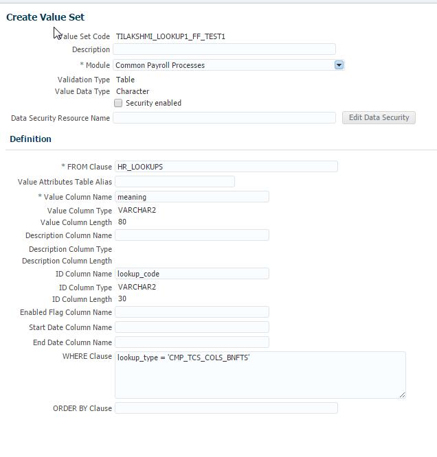 Oracle HCM Fast Formula : Fast Formula – Without DBI