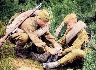 Портянки в русской армии