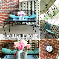 Screened-In Porch Makeover {Summer Spruce-Up Series}