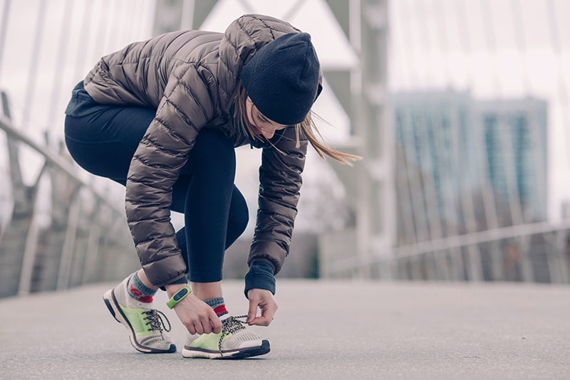 Make sure you have the right running shoes for your feet before you start a running training program.