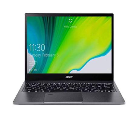 Imagem de notebook da marca Acer e modelo Spin 5