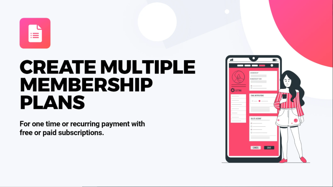 Membership Subscription Order