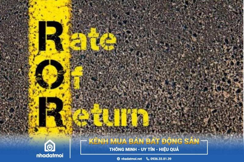 rate of return là gì