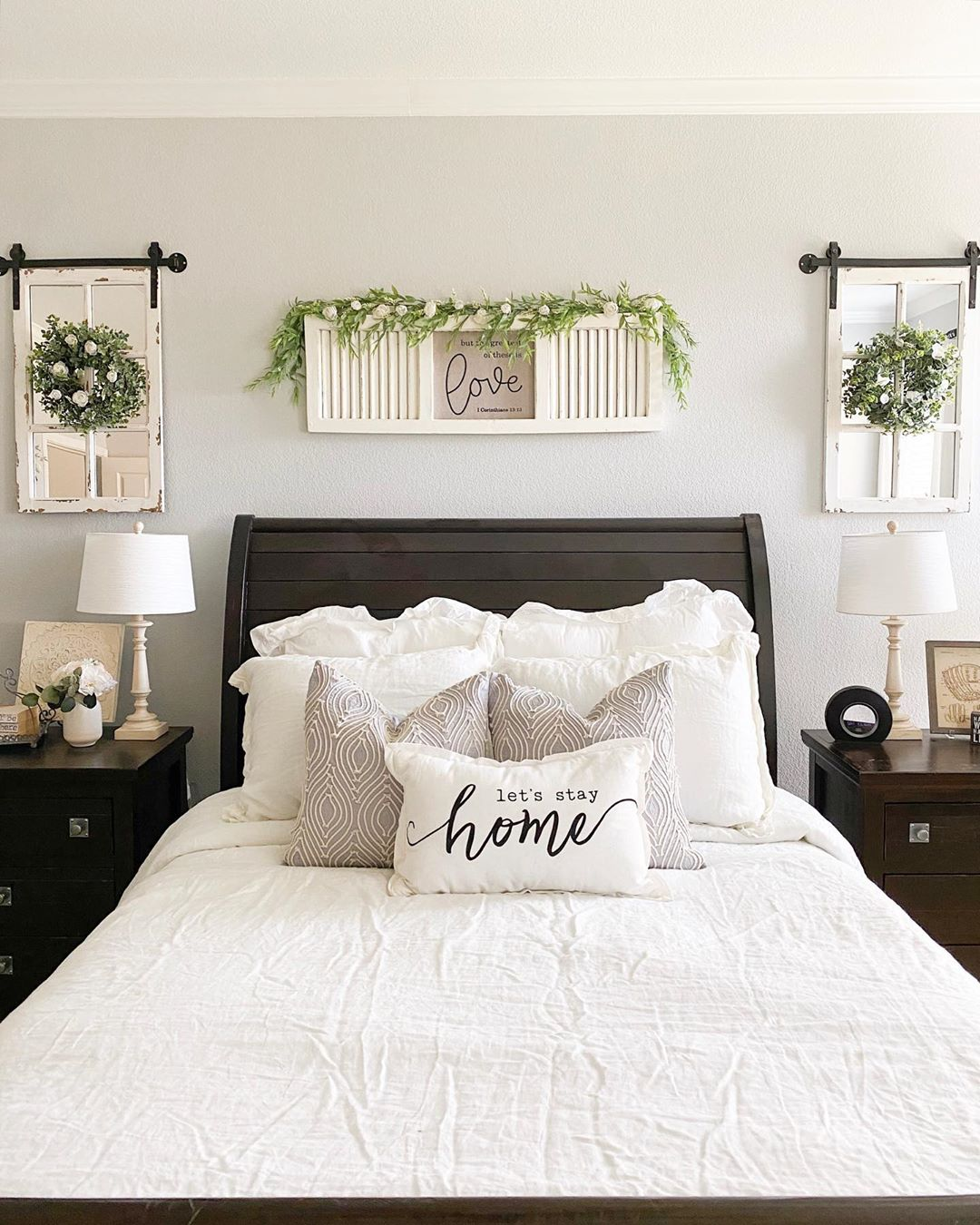 Create An Interesting Bed with Custom Farmhouse Pillow