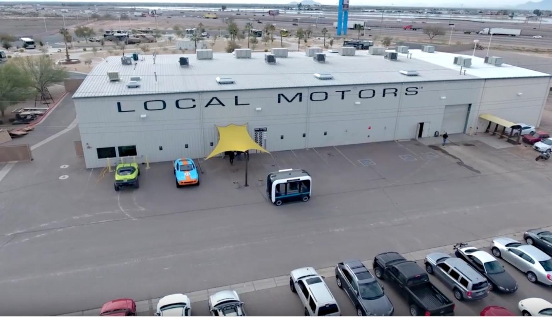 Uma das cinco indústrias de manufatura da Local Motors