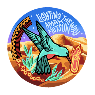 Image of the fundraiser sticker