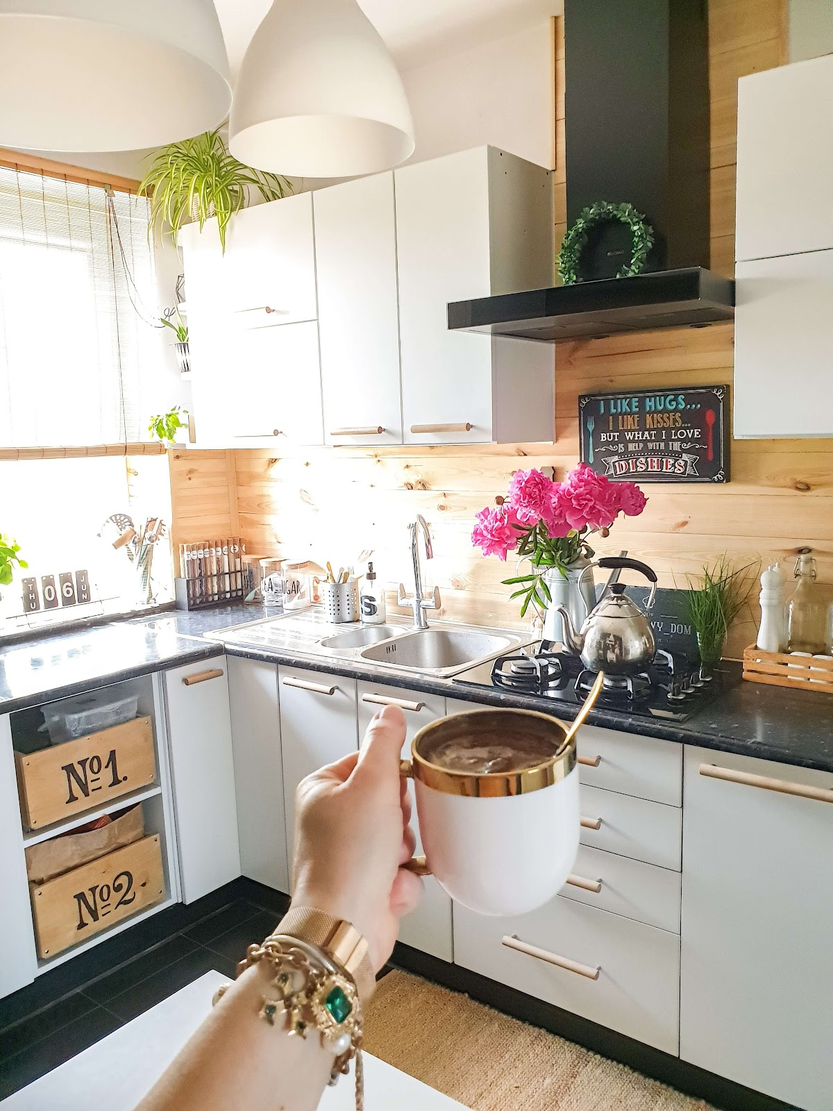 Okap kuchenny GLOBALO VERTA w Piaskowym Domu