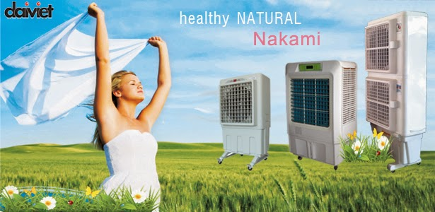 Máy làm mát nhà xưởng bằng hơi nước Nakami