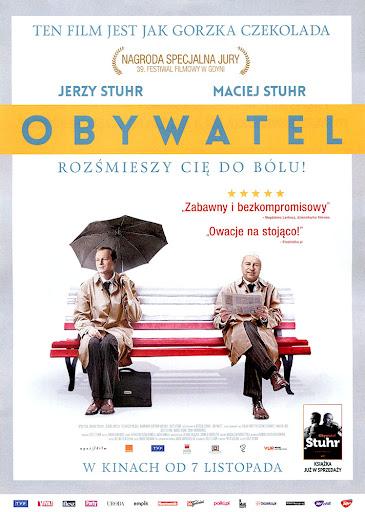 Przód ulotki filmu 'Obywatel'