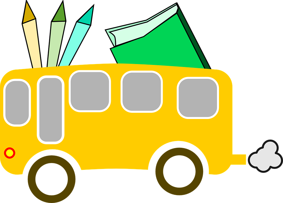 School Bus, School, Education, ...