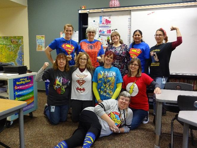 Super Hero Resource Staff
