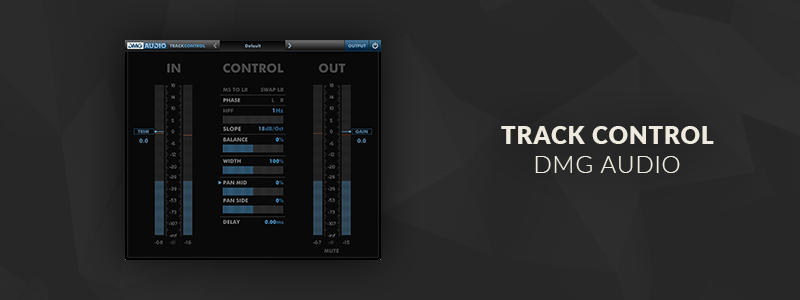 TrackControl by DMG Audio (Windows, Mac OS)