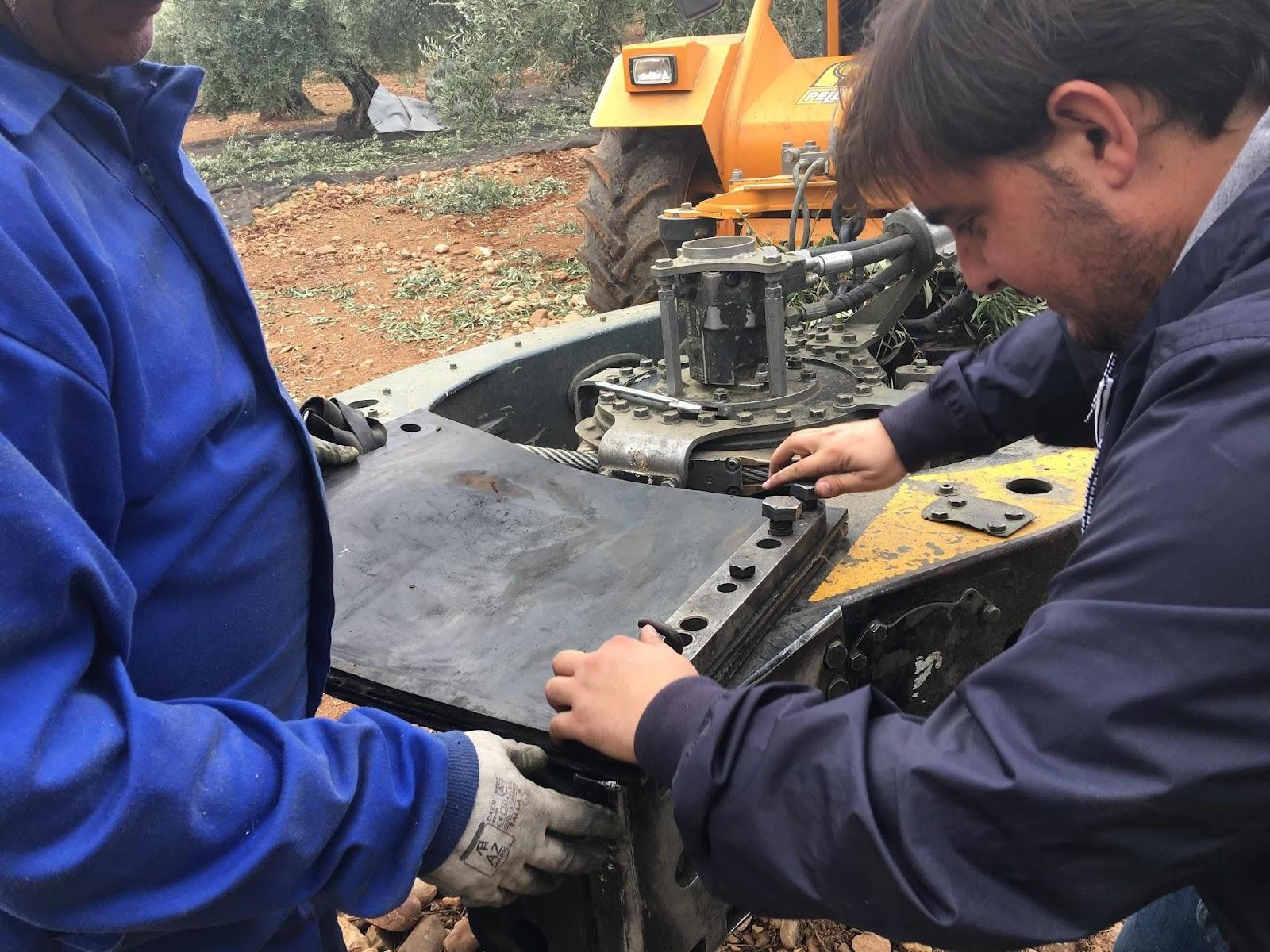 olive oil mill mechanic
