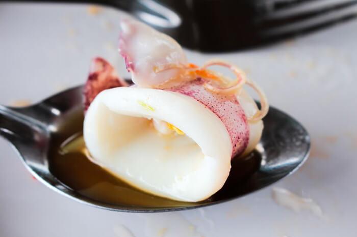 因為新鮮,所以直接汆燙也可以,甜而不腥才是上選的品質。