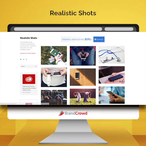 the-photo-features-a-monitor-displaying-the-landing-page-of-realistic-shots