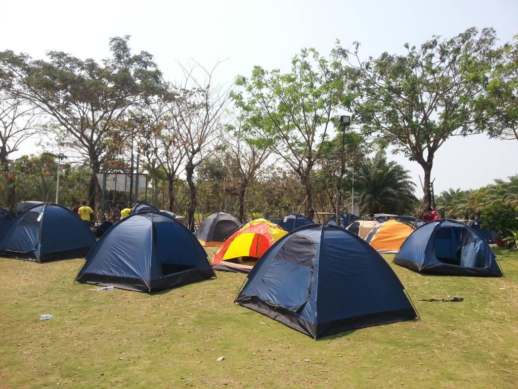 Cắm trại ở Khu giải trí The BCR