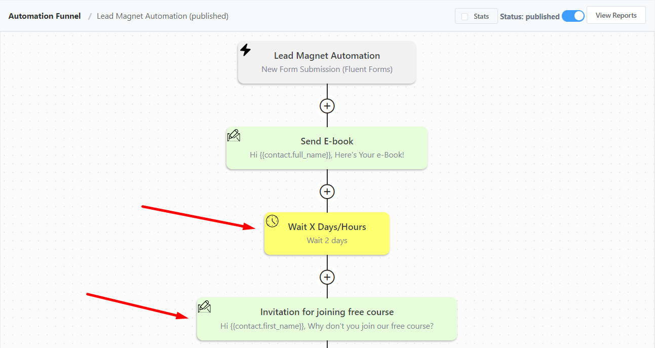 creating a learndash lead magnet automation 2