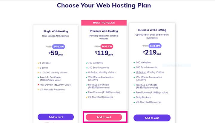 How to Buy Hostinger Hosting plan