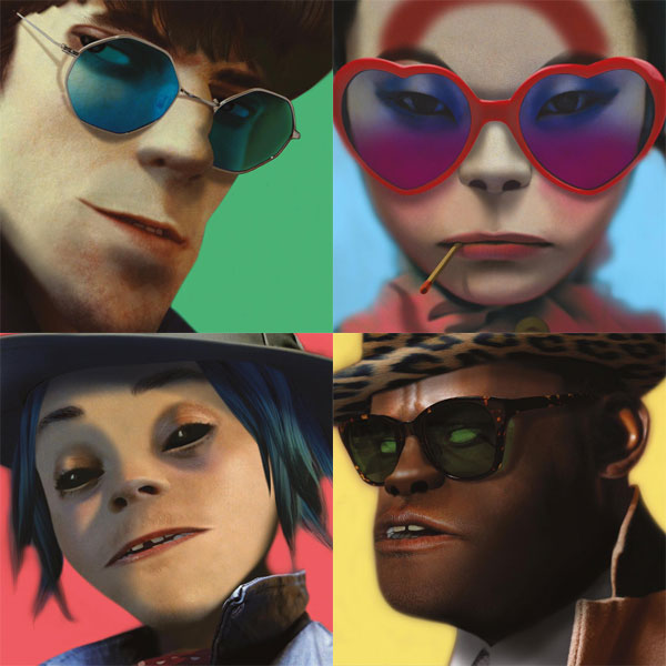 Image result for gorillaz humanz