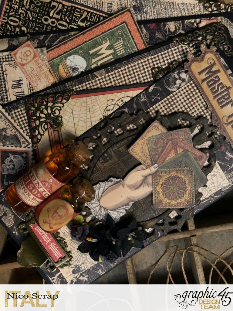 album of curiosities, master detective, photo 7, by Nico Scrap, Product by Graphic 45..jpg