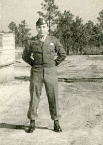 Parachute school, 1945, Fort Benning, Georgia