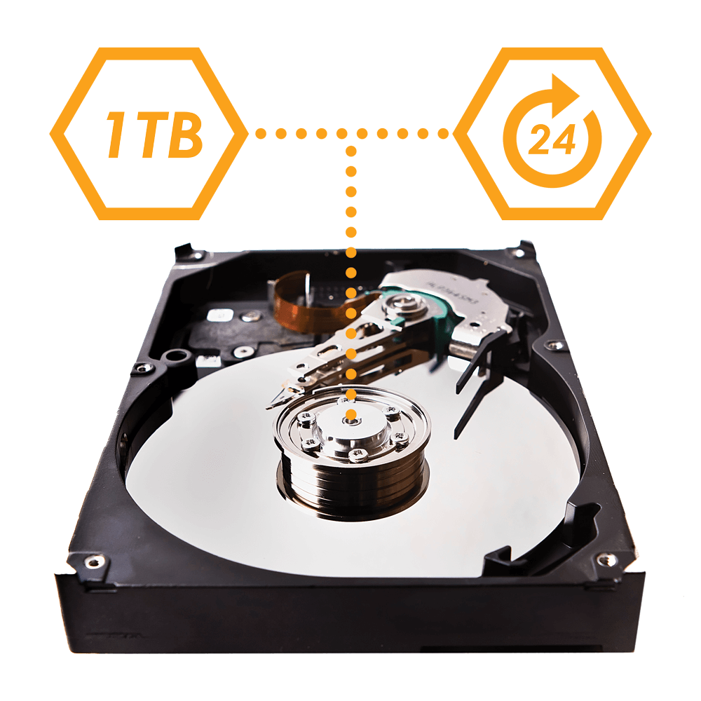 24/7 heavy-duty professional HDD for security systems