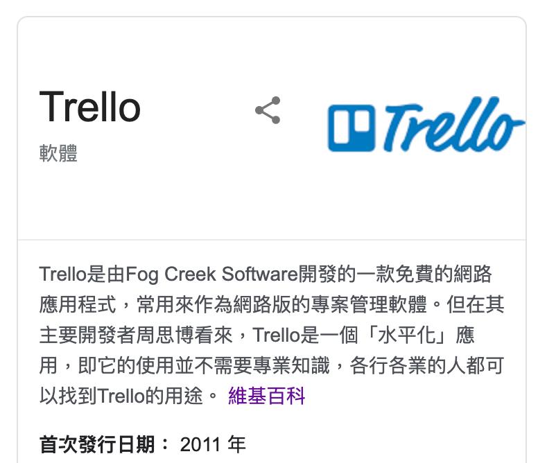 時間管理工具介紹Trello