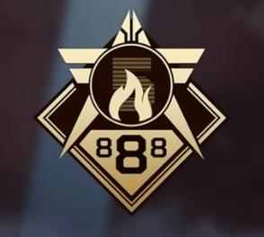 888  badge