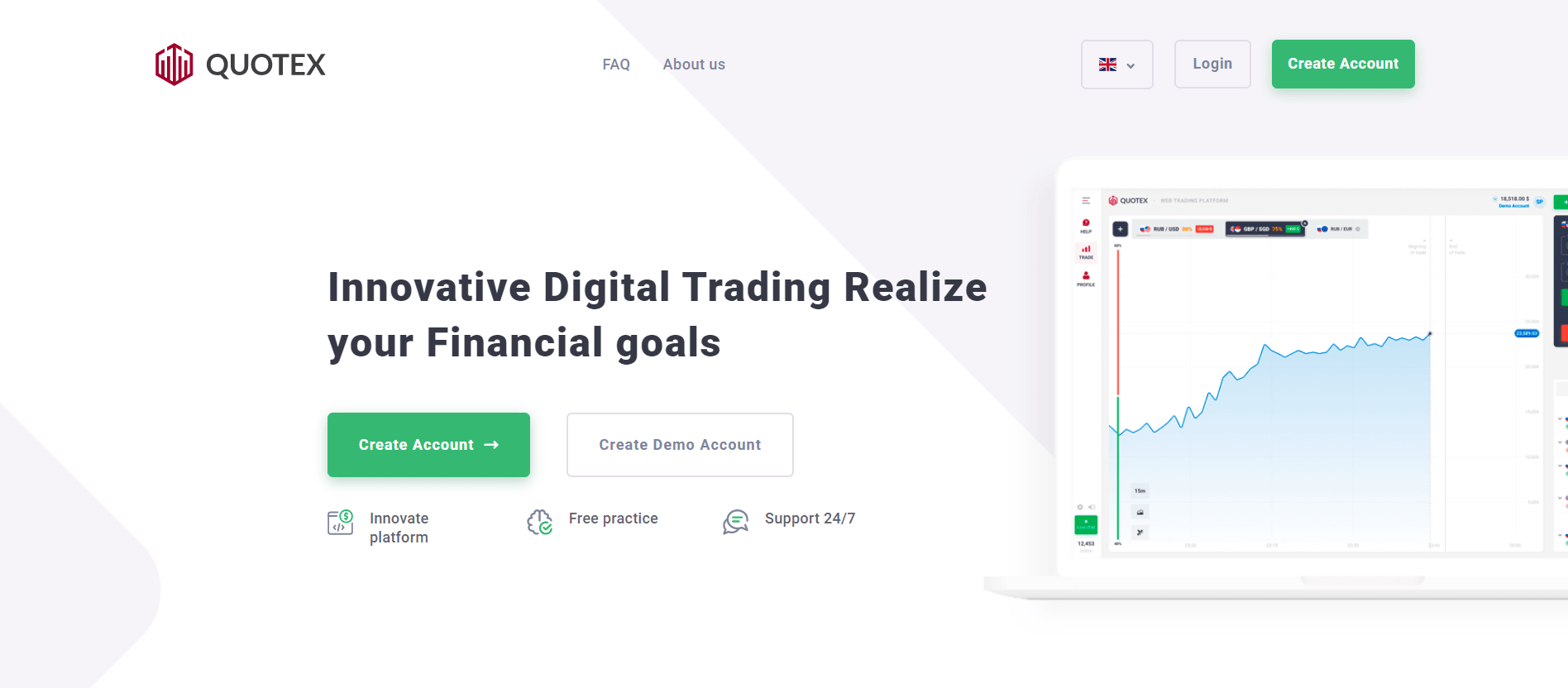 Quotex official website