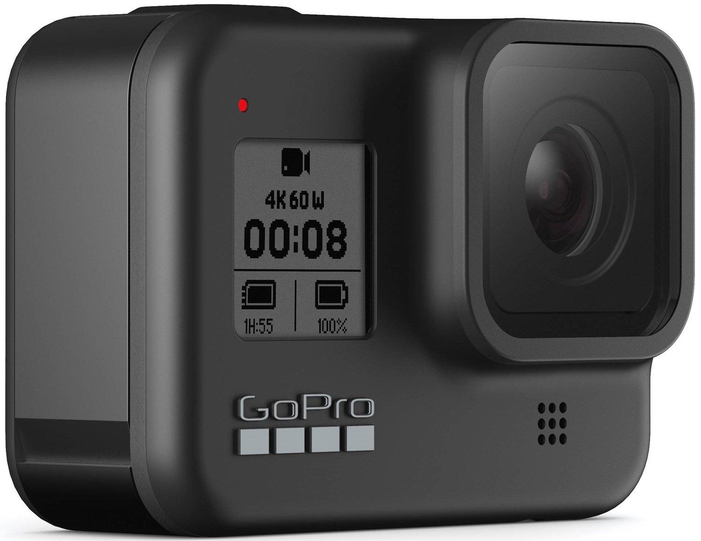 Компактная камера GoPro HERO8 Black с держателем