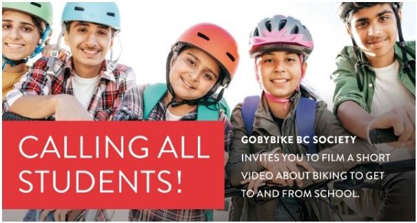 Bike to School Video Reels Contest