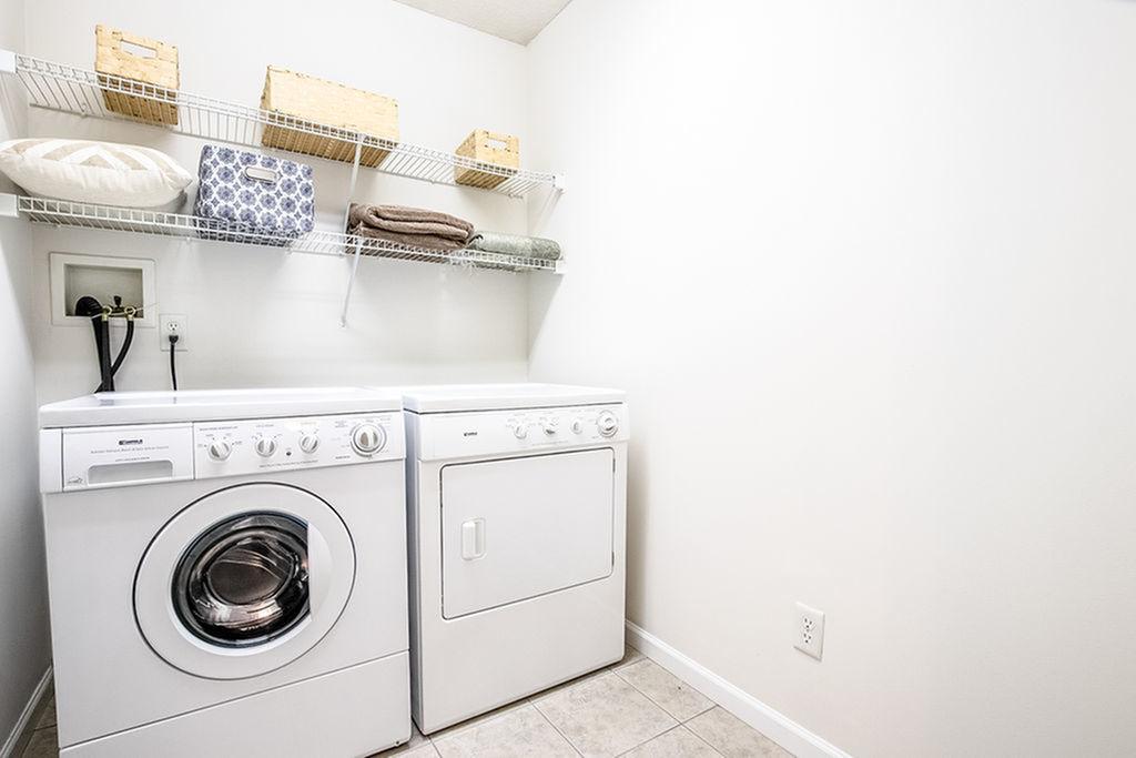 In Unit Laundry Room Autumn Creek Apartments