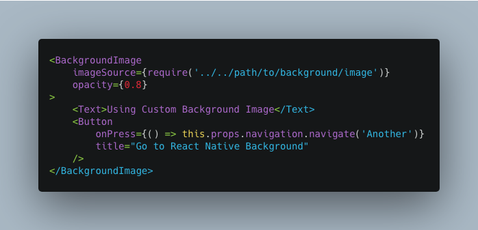 Consuming the Custom Background Image Component
