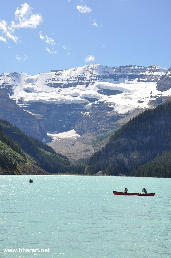 Lake Louse - the most beautiful lake in the Rockies