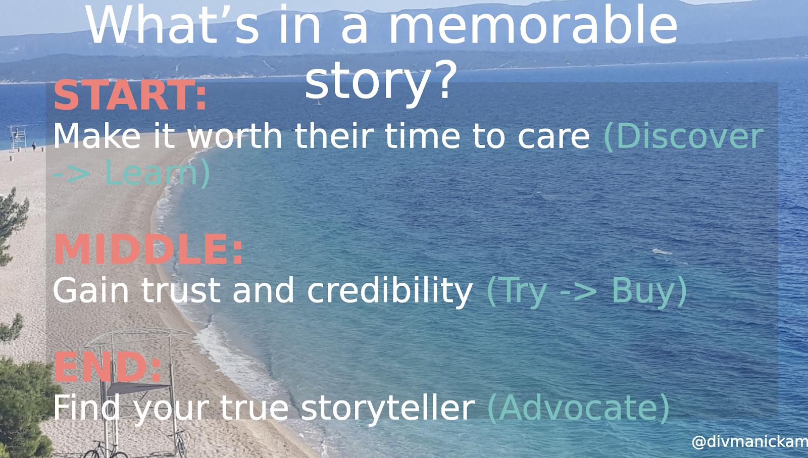 A breakdown of a memorable story.