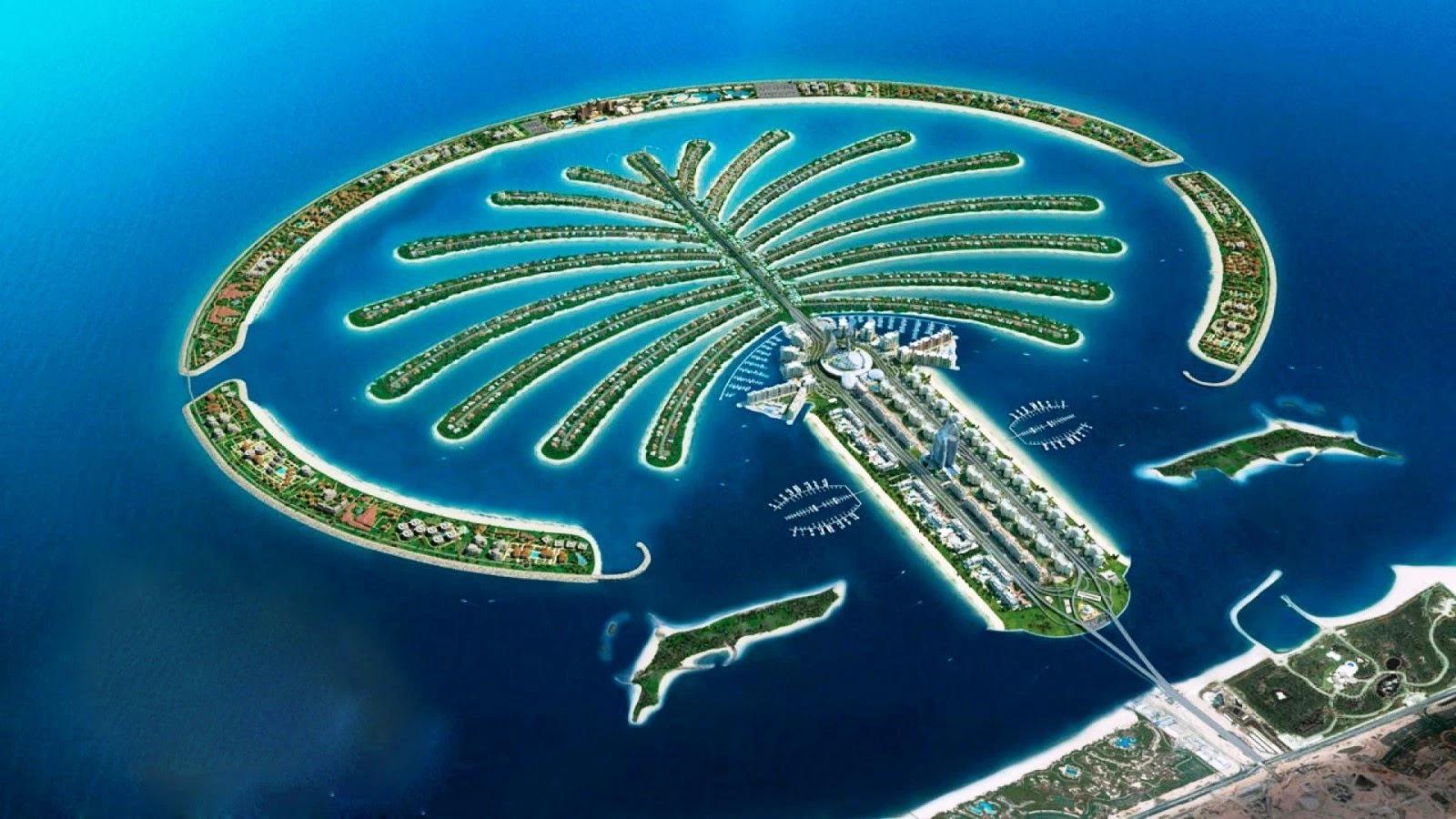 As maiores construções do mundo: palm islands
