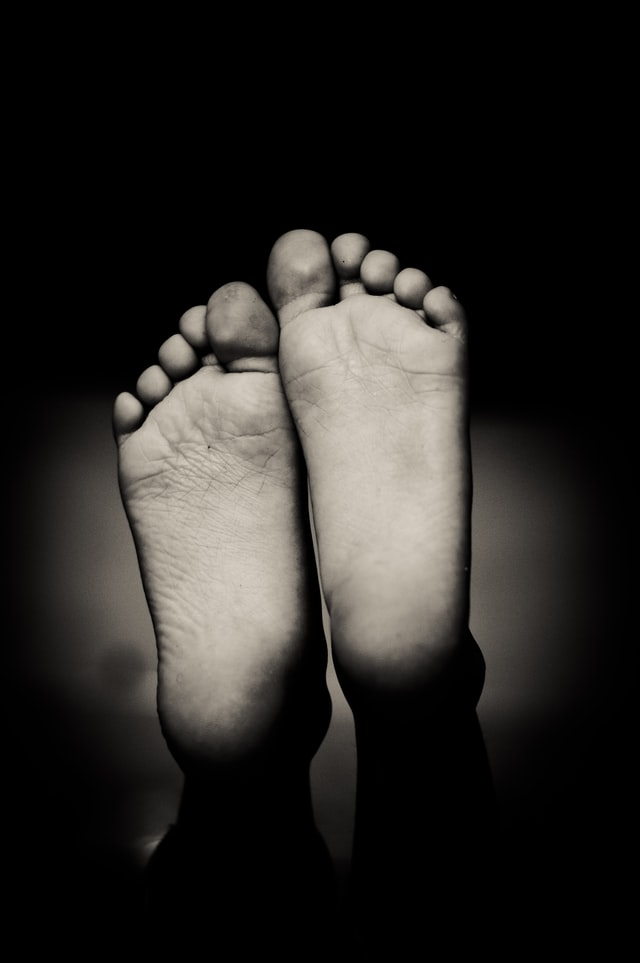How to lose feet fat