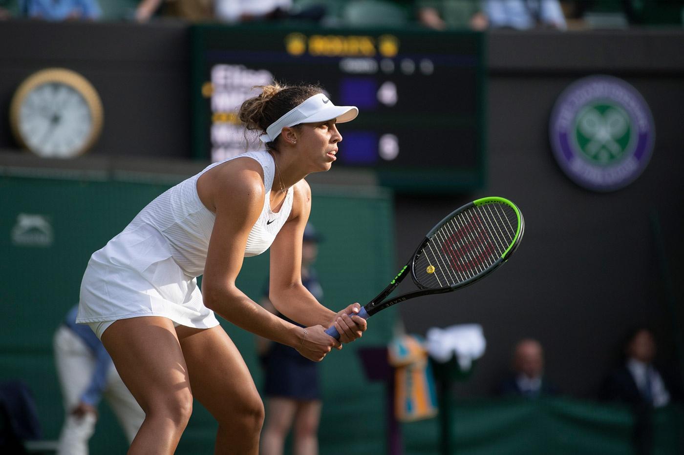 Madison Keys được cho là một trong những tay vợt nữ mạnh nhất tại đấu trường WTA