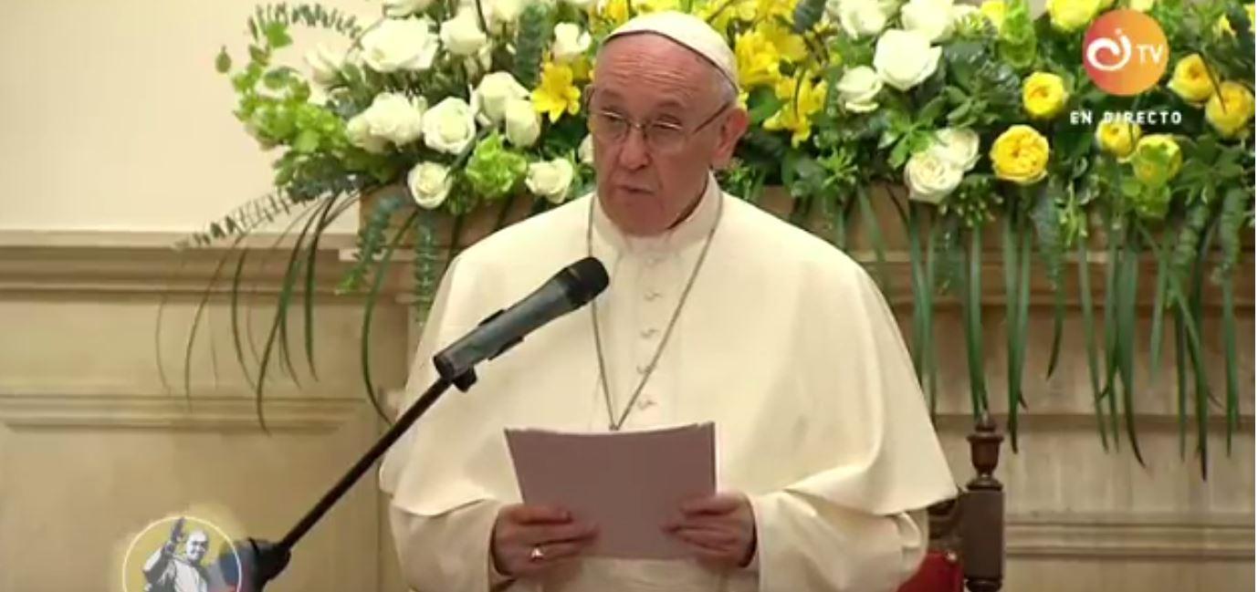Huấn từ của Đức Thánh Cha với các nghệ sĩ trong buổi hòa nhạc Giáng sinh của Vatican