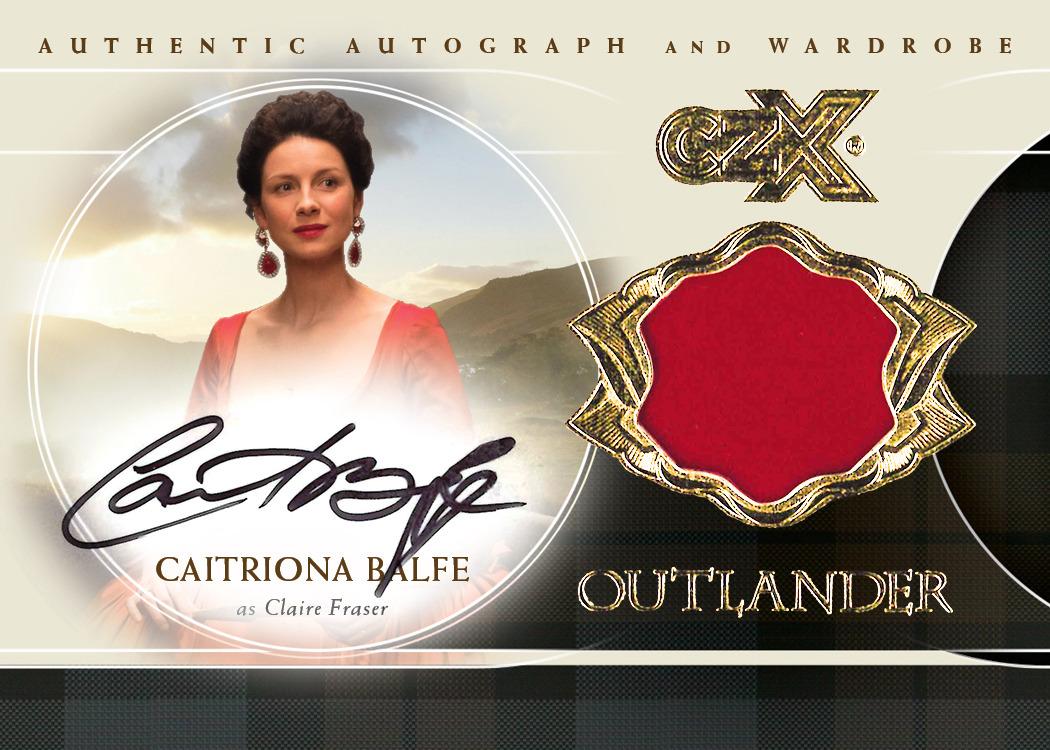 CZX Outlander: Autograph-Wardrobe Card