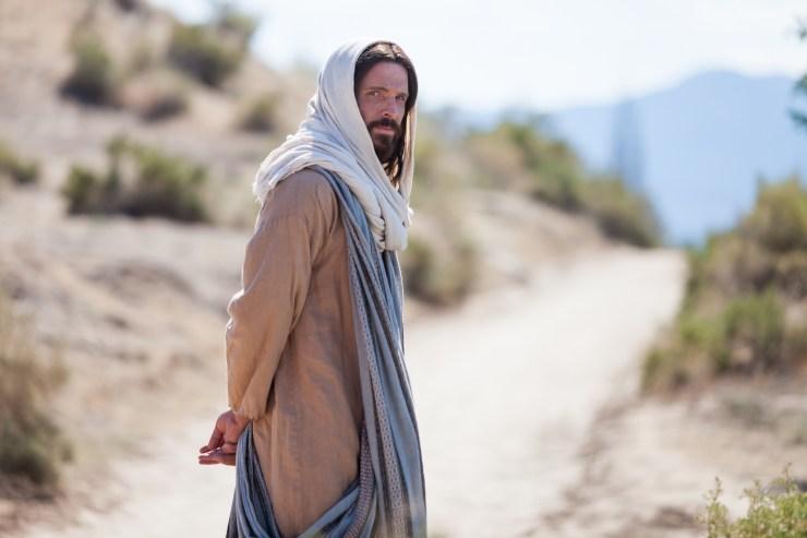 jesus Christ on path