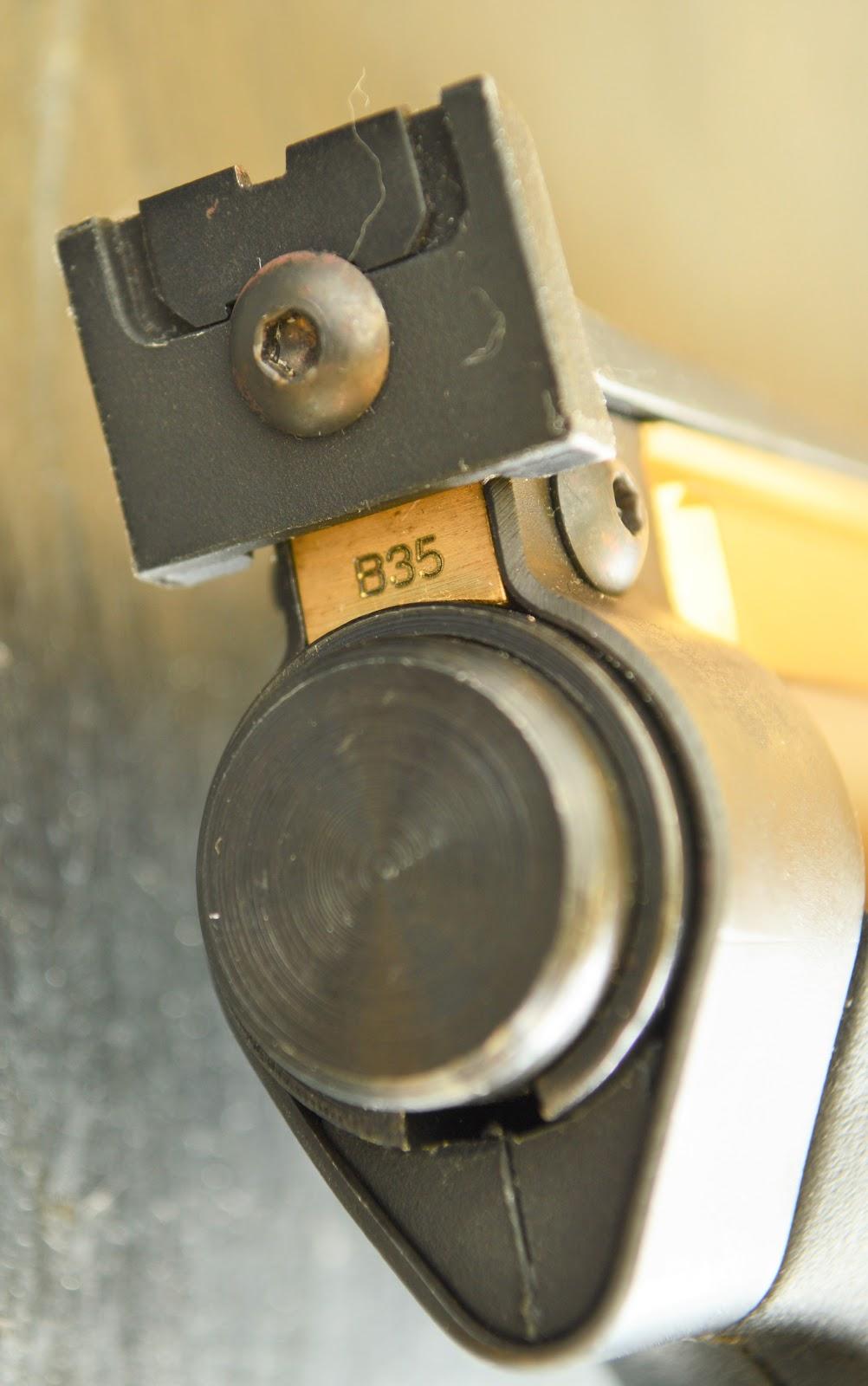 Serial number - B35