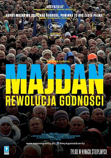 Polski plakat filmu 'Majdan. Rewolucja Godności'