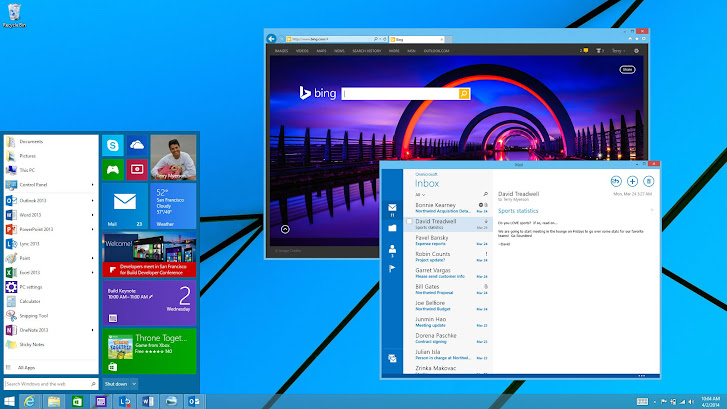 Windows 9 concept