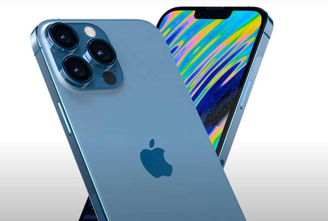 iPhone 13 bản màu xanh dương Sierra Blue thu hút mọi ánh nhìn